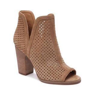 Larise Peep Toe Ankle Boot